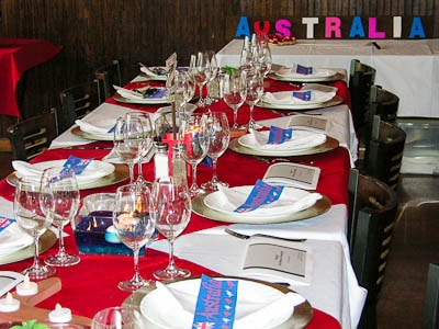 Australian Wine Tasting at 15th Street Pizza
