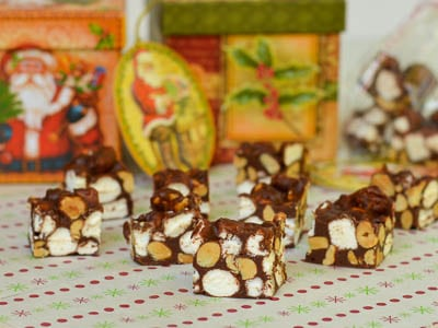 Rocky Road Candy for Gifts from the Kitchen #SundaySupper