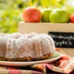 Applesauce Walnut Raisin Cake | Magnolia Days