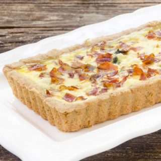 Prosciutto Goat Cheese Tart