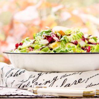 Autumn Crunch Salad for #SundaySupper