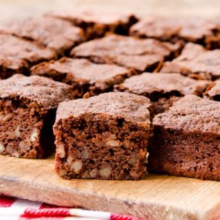 Chocolate Banana Nut Brownies
