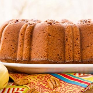 Banana Nut Pound Cake