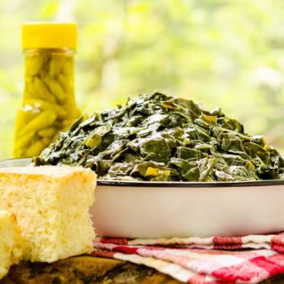 Southern Collard Greens for #SundaySupper