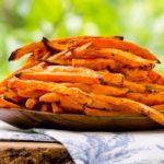 Baked Sriracha Sweet Potato Fries | Magnolia Days