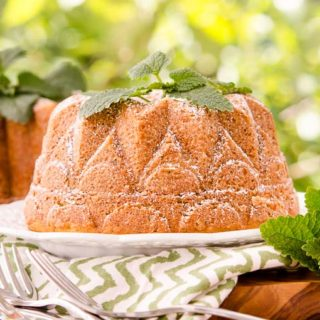 Lemon Balm Bundt Cake for #BundtBakers