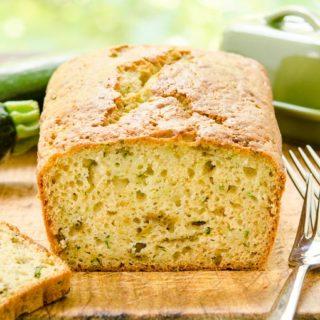 Hatch Chile Zucchini Bread for #BreadBakers